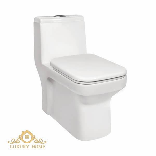 خرید اینترنتی توالت فرنگی مروارید مدل ولگا 67