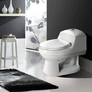 توالت فرنگی مروارید مدل الگانت - توالت فرنگی یک تکه الگانت مروارید Elegant