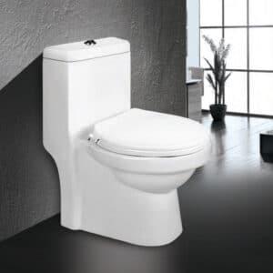 توالت فرنگی مروارید مدل تانیا - توالت فرنگی یک تکه تانیا 66 Tania