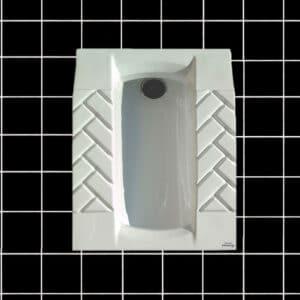 توالت زمینی طبی مروارید مدل کرون گود - توالت ایرانی کرون