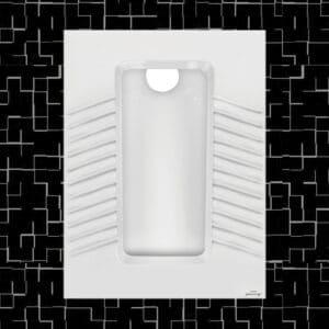 توالت زمینی مروارید مدل یاریس 59 تخت - توالت ایرانی یاریس