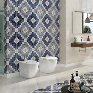 سرامیک کف و دیوار تیفانی 30 در 30 سرامیک البرز Tiffany طرح دار