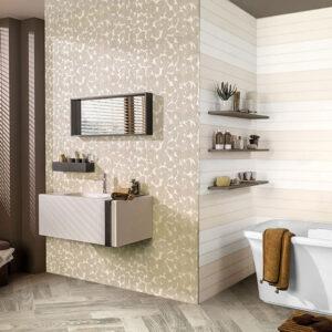 کاشی حمام و سرویس بهداشتی هاوایی بژ 30 در 90 هرمس تبریز Hawaii