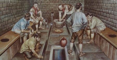 توالت و تاریخچه پیدایش دستشویی یا سرویس بهداشتی
