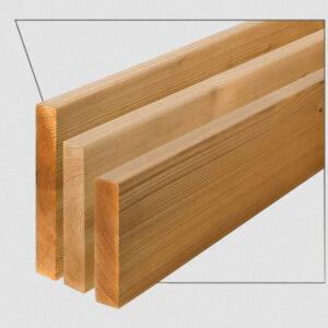 ترمووود - پروفیل چوب ترمو ساده مدل SHP-Size19 با تکنولوژی فنلاند
