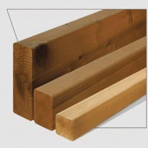 ترمووود - پروفیل چوب ترمو ساده مدل SHP-Size42 با تکنولوژی فنلاند