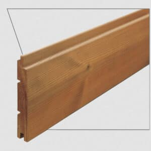 ترمووود - پروفیل چوب ترمو لمبه مدل UTS-Size16 با تکنولوژی فنلاند