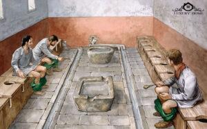 توالت در یونان باستان