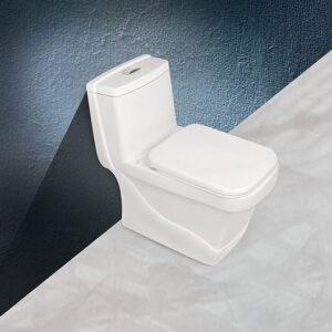 توالت فرنگی مروارید مدل کرون 70 - توالت فرنگی یک تکه کرون Crown