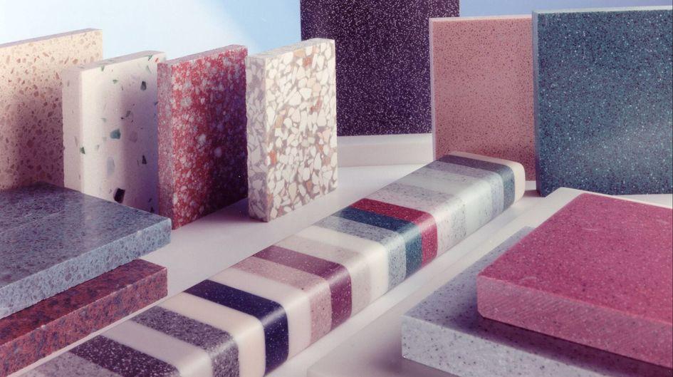 سنگ مصنوعی - انواع سنگ مصنوعی
