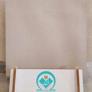 سرامیک کف سعدی مدل کریستالین 60 در 60 کرم براق