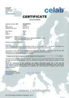 گواهینامه استاندارد CE اروپا برای کاشی مرجان