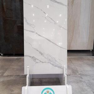 سرامیک کلکته سعدی مدل اسنو 50 در 100 سفید براق